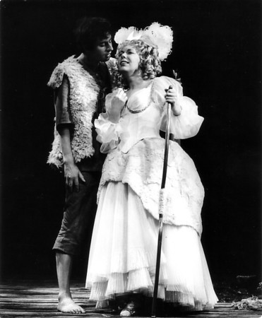 James Bowman   With Janet Baker In La Calisto, Glyndebourne 1971   Photo Anthony Crickmay